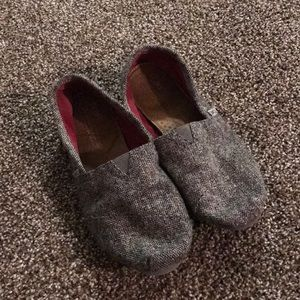 Corduroy Lined TOMS